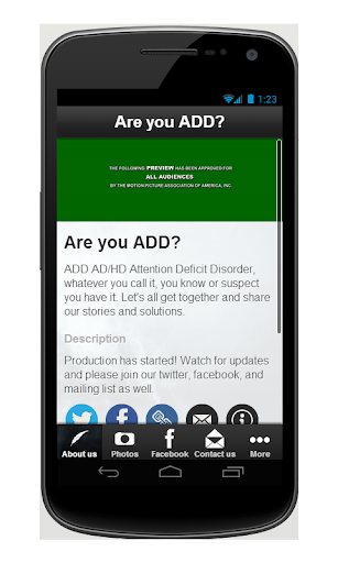 ADHD documentary Are You ADD?|玩媒體與影片App免費|玩APPs