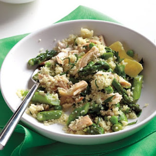 Spring-Vegetable Couscous with Chicken