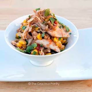 Clean Eating Slow Cooker Apricot Salsa Chicken