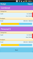 Screenshot of Wudget