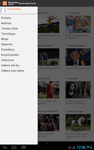 Noticias - Montevideo Portal- screenshot thumbnail