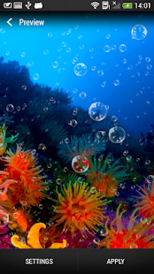 Coral Reef Live Wallpaper- screenshot thumbnail