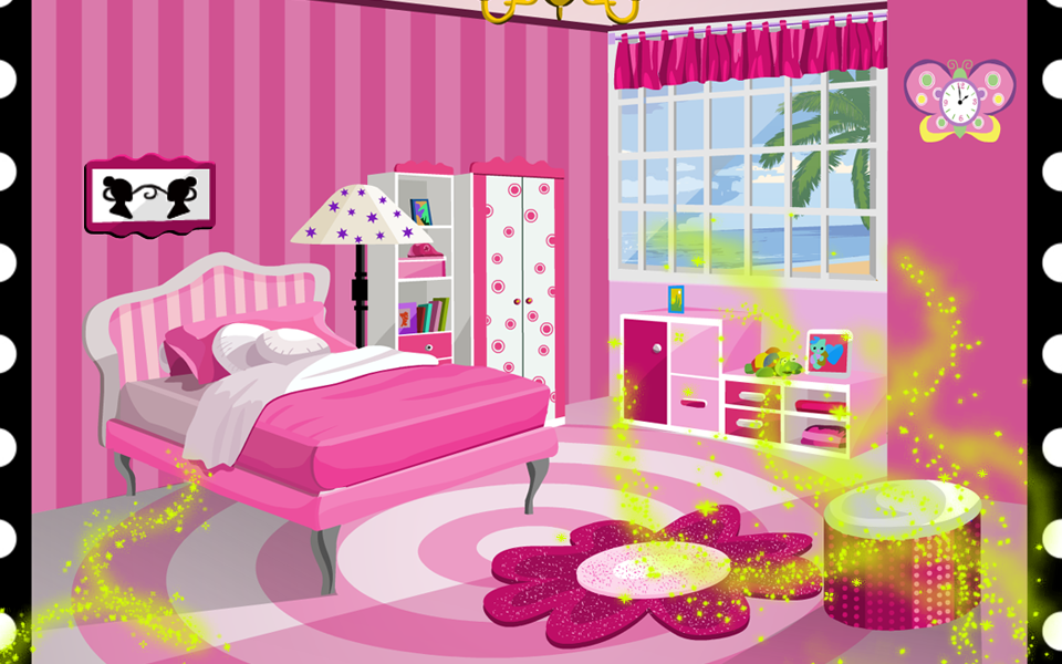 PhonePink Bedroom   Games for Girls   Google Play Store revenue  . Pink Room Decoration Games. Home Design Ideas