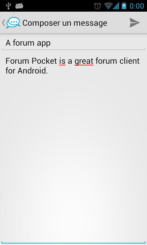 Forum Pocket - screenshot