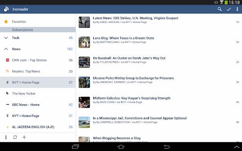 Inoreader - RSS & News Reader Screenshot 21