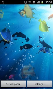 Ocean Fish Live Wallpaper