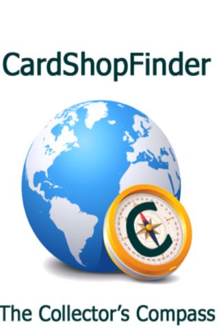 CardShopFinder- screenshot