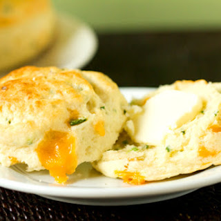 Cheddar, Jalapeño & Chive Biscuits