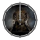 Game of Thrones Animated Clock icon