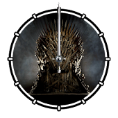 Game of Thrones Animated Clock