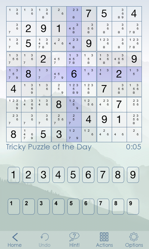 Sudoku Of The Day - screenshot