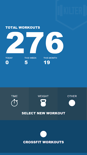 Kilter - Your Workout Tracker