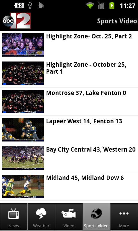 WJRT-ABC12 Mobile - screenshot