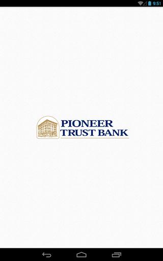 Pioneer Trust Bank Tablet