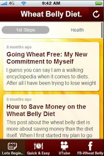 Wheat Belly Diet Tips. - screenshot thumbnail