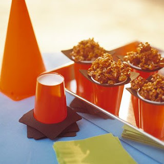 Caramel and Almond Popcorn