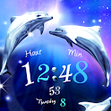 Dolphin Blue LWP Trial icon