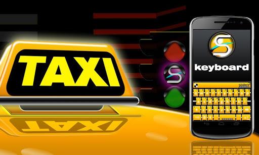 SlideIT Yellow Taxi Skin