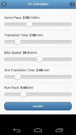 Triathlon Race Calculator