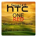 HTC ONE (Red) Go Theme icon