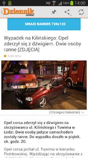 Dziennik Łódzki - screenshot thumbnail