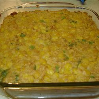 Scalloped Corn III