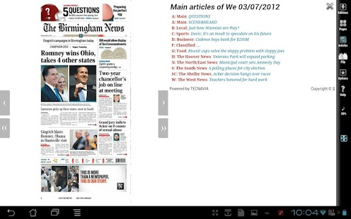 The Birmingham News - screenshot thumbnail