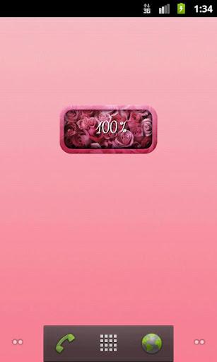 可愛的玫瑰電池