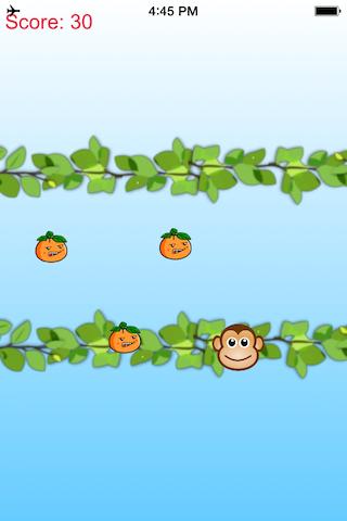 Crazy Monkey vs Jumpy Orange
