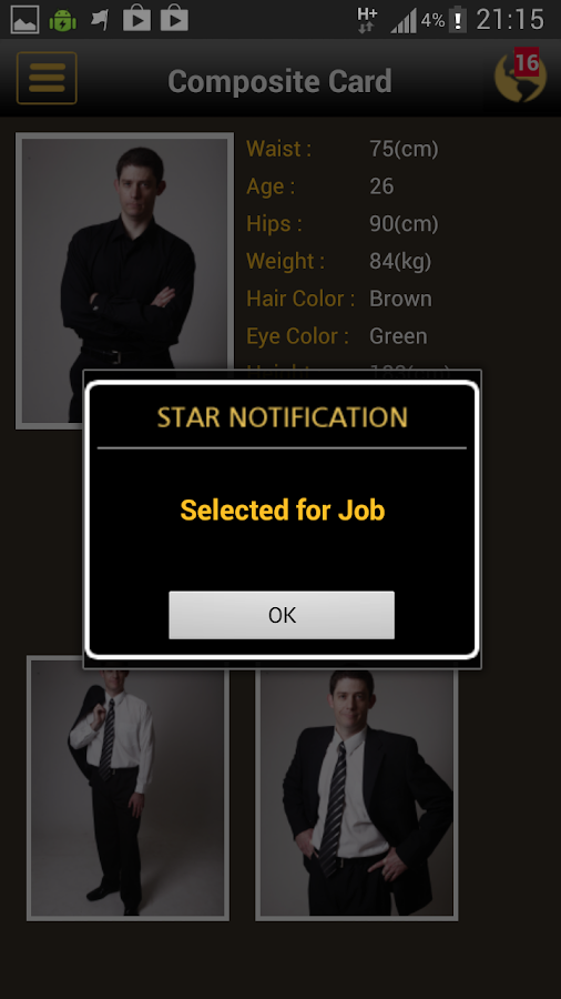 STAR APP - screenshot