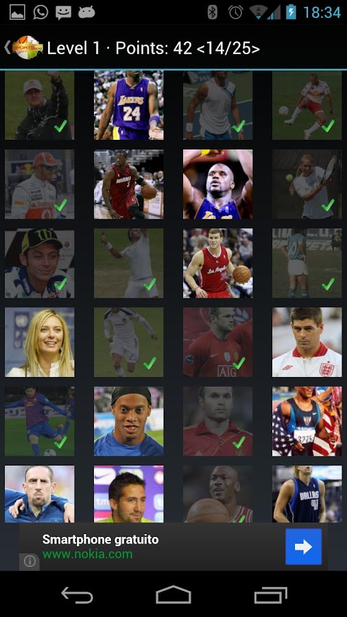 Sports Quiz! - screenshot