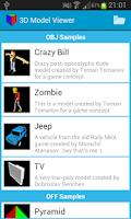 Screenshot of 3D Model Viewer