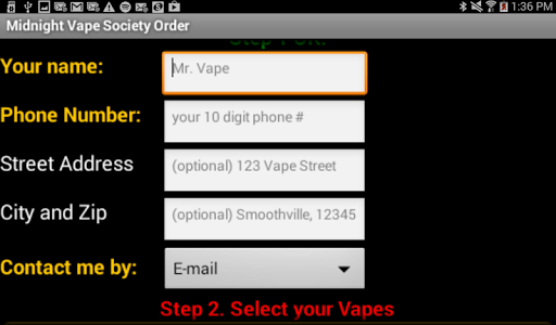 Midnight Vape Society screenshot 5