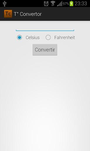 Temperature Convertor