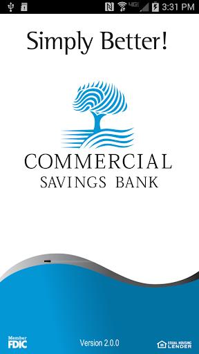 Commercial Savings Bank Mobile