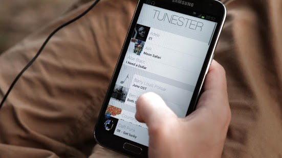 Tunester Music Player - screenshot thumbnail