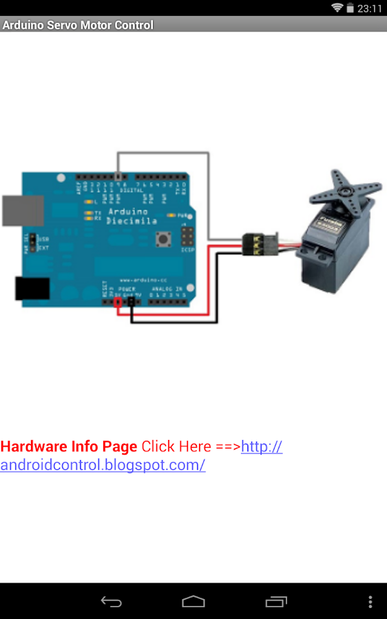 Arduino USB Servo Motor- screenshot