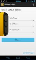 Screenshot of PebbleTasker