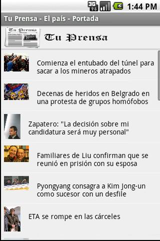Tu Prensa- screenshot
