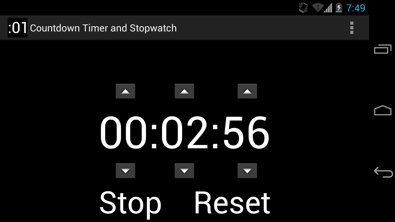 5 minute timer please