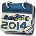 Formula Calendar 2014 Free icon