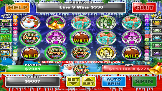 Winter Wonga Slots- screenshot thumbnail