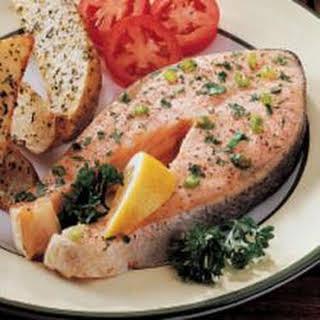 Special Salmon Steaks.