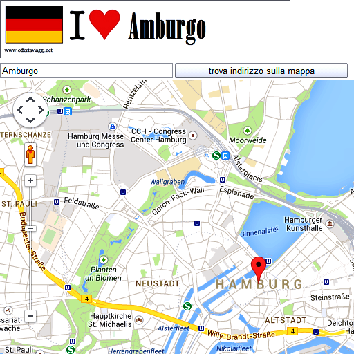 Hamburg maps