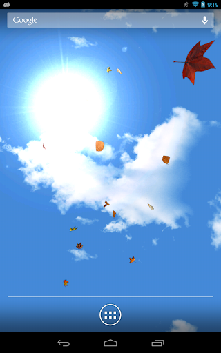 【免費個人化App】Falling Leaves Live Wallpaper-APP點子