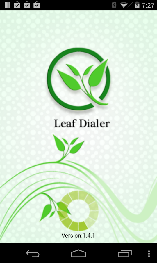 Leaf Dialer - screenshot