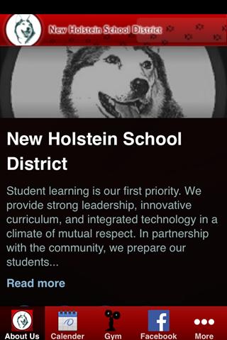 高評價推薦好用教育app New Holstein School District!線上最新手機免費好玩App