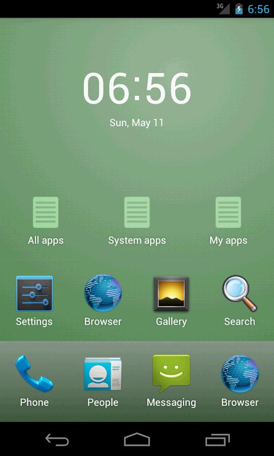 Minimal Launcher - screenshot