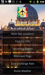 Rome Travel Guide- screenshot thumbnail