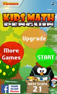 Kids Math Penguin 2
